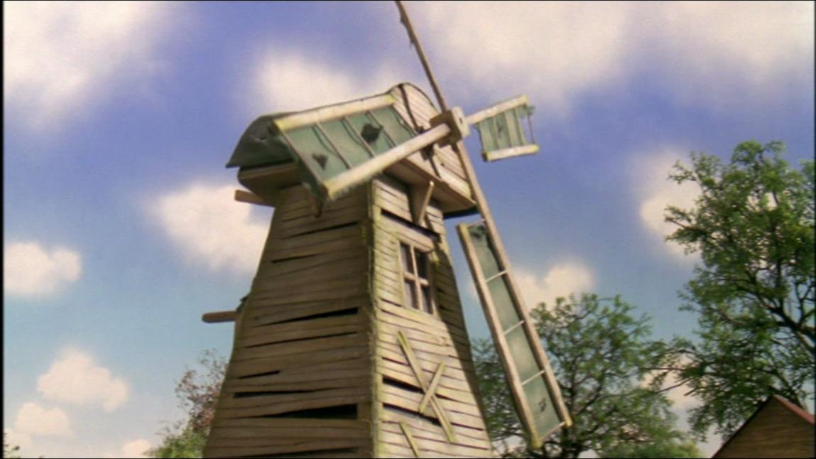 改装前のトビーの風車