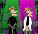 Songs sung by Heinz Doofenshmirtz (2nd Dimension)