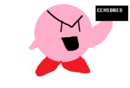 Kirby being naughty.png