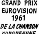 Eurovision Song Contest 1961