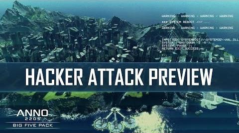 Anno 2205 Hacker Attack