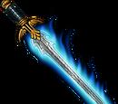 Derek the Daring's Flaming Sword
