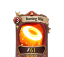 Burning Disc
