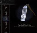 Faculty Office 2 Key