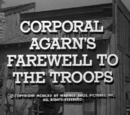 Corporal Agarn's Farewell to the Troops