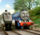 Gordon and Spencer the Fast Engines