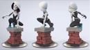 Cancelled Disney INFINITY Figure - Spider Gwen 2.png