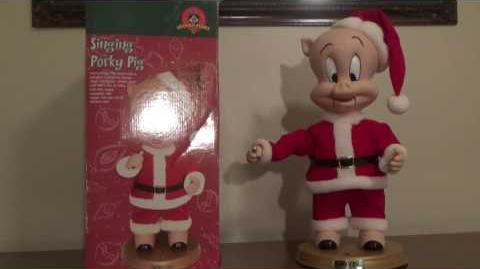 "Gemmy Animated Looney Tunes ""Singing Porky Pig"" (RARE)"
