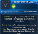 Poison Drenched Daggers