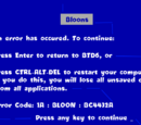 Blue Screen Track