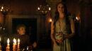Margaery admires metalwork in Cersei's gown.jpg