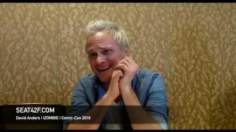 David Anders iZOMBIE Interview Comic Con 2016