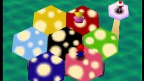 Mario Party- 4 Player Minigame - Mushroom Mix-Up