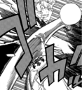 Laxus punches Wall.png