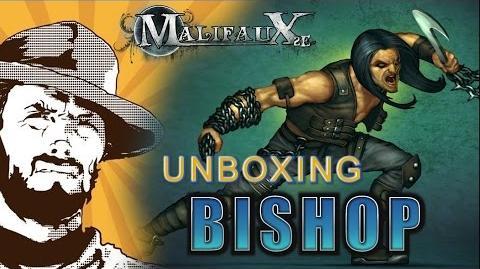 FFH Unboxing Malifaux Bishop
