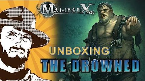 FFH Unboxing Malifaux The Drowned