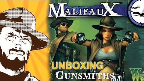 FFH Unboxing Malifaux Gunsmiths