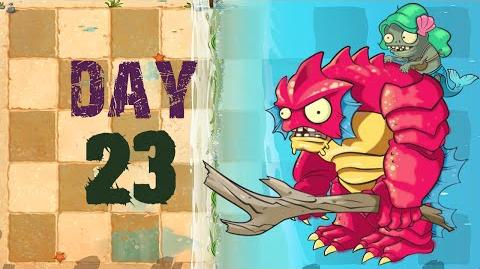 Big Wave Beach - Day 23 (Chinese version: pre-1.8)