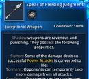 Spear of Piercing Judgement
