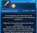 Armored Brawler's Blade