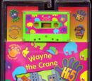 Wayne the Crane (book & cassette)