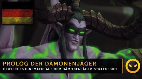 Legion In-Game-Cinematic Dämonenjäger-Startgebiet Prolog DE