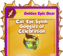 Cat-Eye Synth Goggles of Celebration