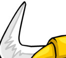 Gold Viking Helmet (Puffle Hat)