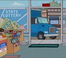Caminhão da Loteria Estadual