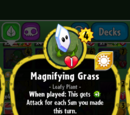 Magnifying Grass (PvZH)