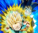 Defying the All-Powerful Super Saiyan Trunks (Kid)