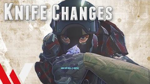 Knife Changes (Sept. Patch) - PlanetSide 2