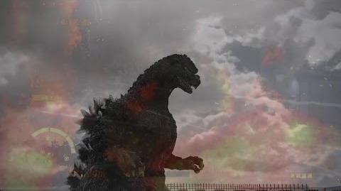 PS3「ゴジラ-GODZILLA-」ゴジラ/キャラクターデモ映像