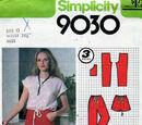 Simplicity 9030 A