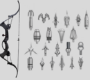 Hawkeye's Quiver and Bow