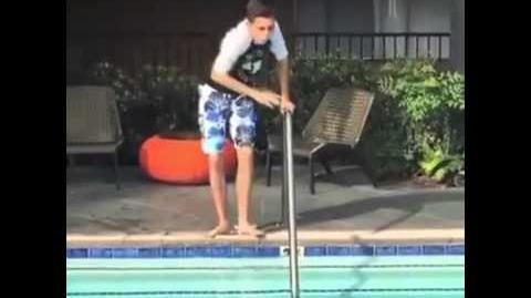 When the pool water's too cold... Vine by Gabe