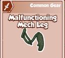 Malfunctioning Mech Leg