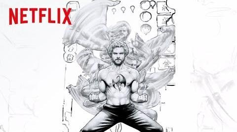 Marvel's Iron Fist Jay Anacleto Art Timelapse HD Netflix