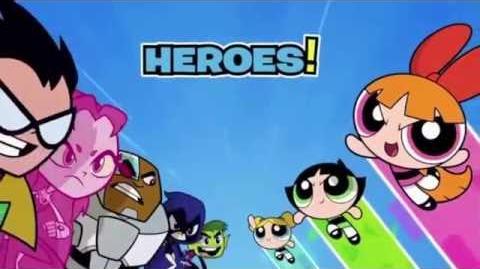 Cartoon Network LA - Los Jóvenes Titanes en Acción VS. Las Chicas Superpoderosas Promo (13 OCT 2016)