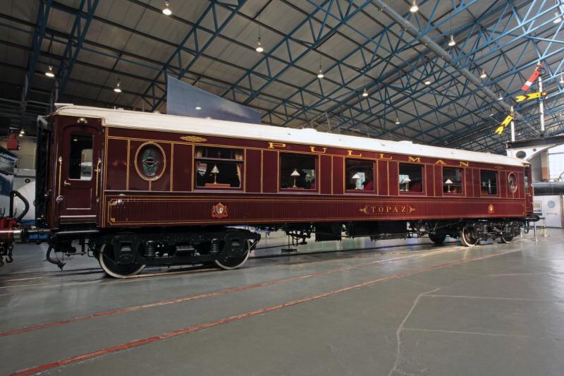 実機のイギリス国立鉄道博物館の客車