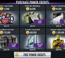 Power Credits