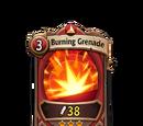 Burning Grenade