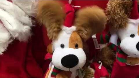 Animated Stocking - Ear Flapping Dog