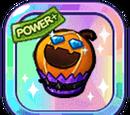 Shiny Halloween Pumpkin Cupcake