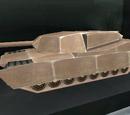 Radio-controlled miniature M1 Abrams