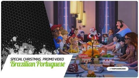 Miraculous׃ As Aventuras de Ladybug - Special Christmas - Promo Video 2 Brazilian Portuguese