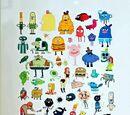 Liste de personnages mineurs