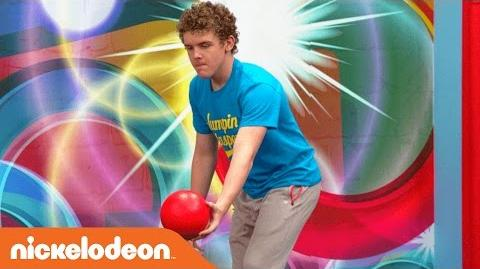 Slow-Mo Trampoline w Jace Norman & the Cast & Crew of Henry Danger Nick