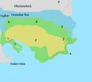 Continents of Khyorgan