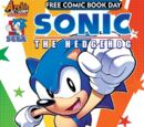 Archie Sonic the Hedgehog Free Comic Book Day 2017
